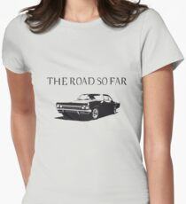 The road so far Women's Fitted T-Shirt