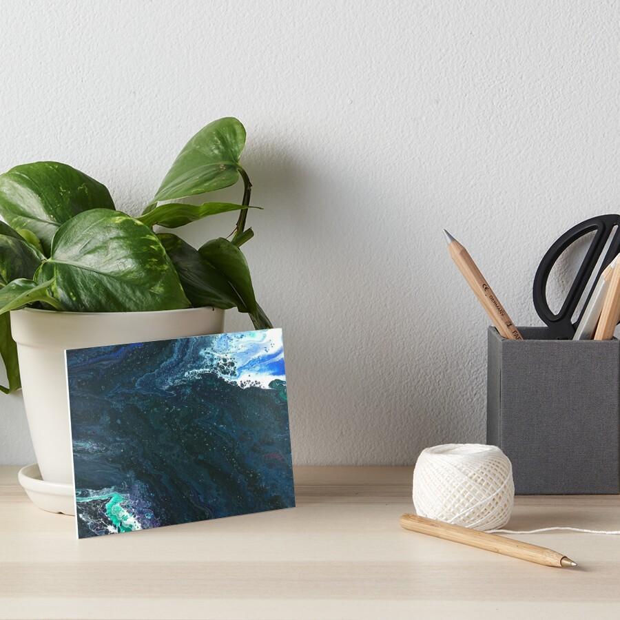 Estuary: river art Art Board Print