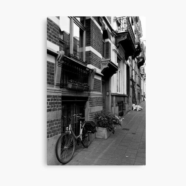 Brussels Streets - Brussels, Belgium Canvas Print