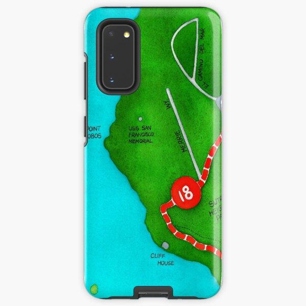 San Francisco map - Outer Richmond Samsung Galaxy Tough Case