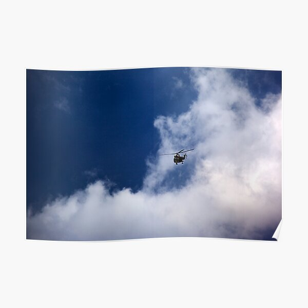 Through the Clouds Poster