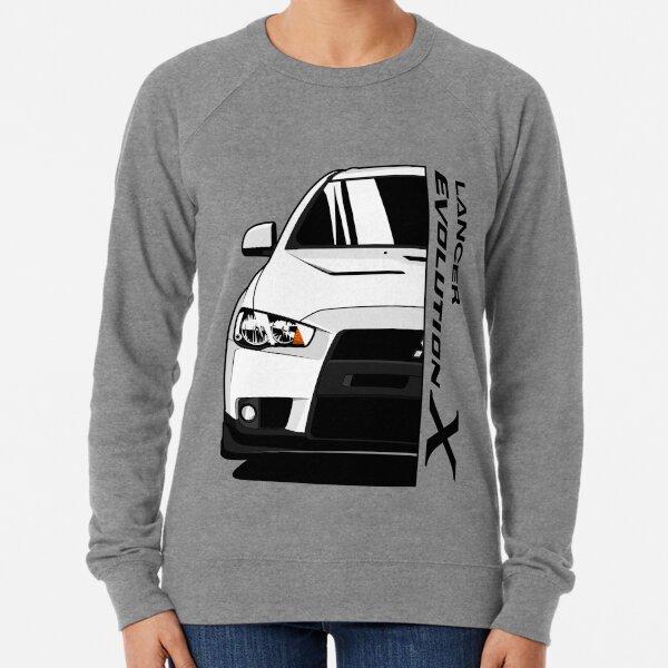 Mitsubishi Ralliart Hoodie VARIOUS SIZES /& COLOURS Lancer Evo Car Enthusiast