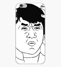 WTF Jackie Chan iPhone-Hülle & Cover
