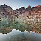 Lake sunrise by fos4o