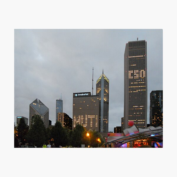 Festa Muti No. 1 -- A Chicago-Style Welcome Photographic Print