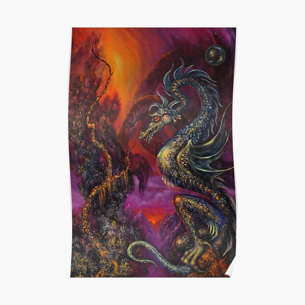 Guardian of the Country of the Secret of Dragons Poster