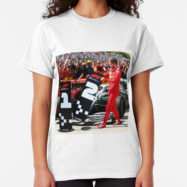 Formula 1 (F1) - Vettel Ferrari Canadian grand prix 2019 Classic T-Shirt