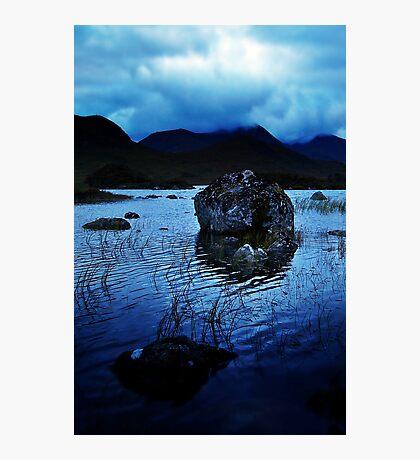 Rannoch Moor Blues. Photographic Print