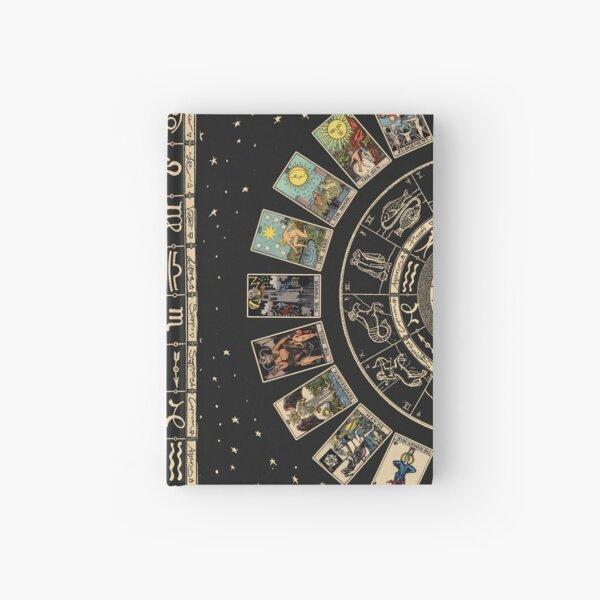 Wheel of the Zodiac, Astrology Chart & the Major Arcana Tarot Hardcover Journal