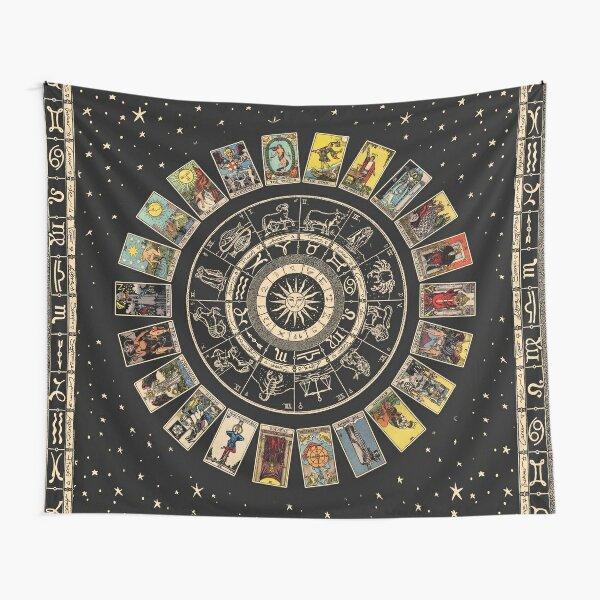 Roue du zodiaque Tentures