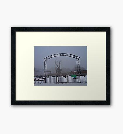 The Coldest Winter #2 Framed Print