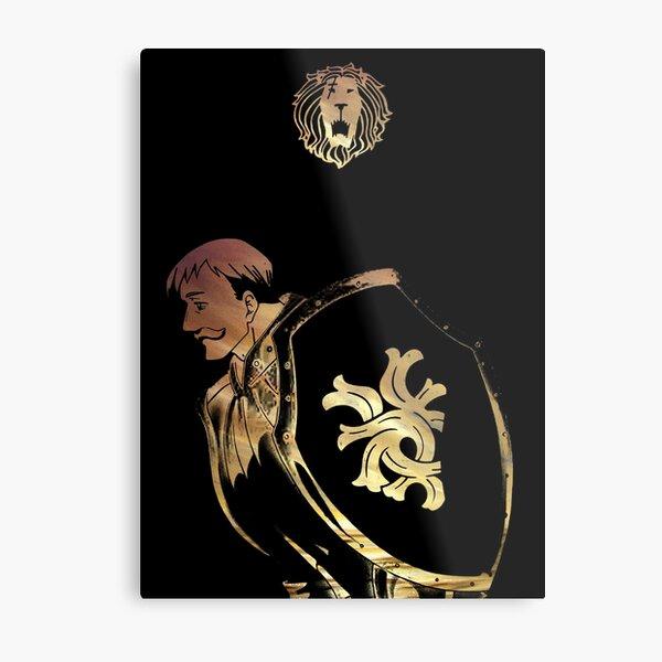 Escanor - Seven Deadly Sins Metal Print
