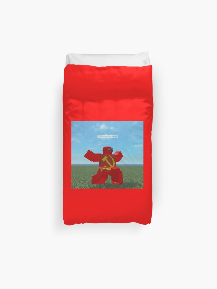 Communism Will Prevail Roblox Meme Bath Mat By Thesmartchicken Redbubble Communism Will Prevail Roblox Meme Duvet Cover By Thesmartchicken Redbubble