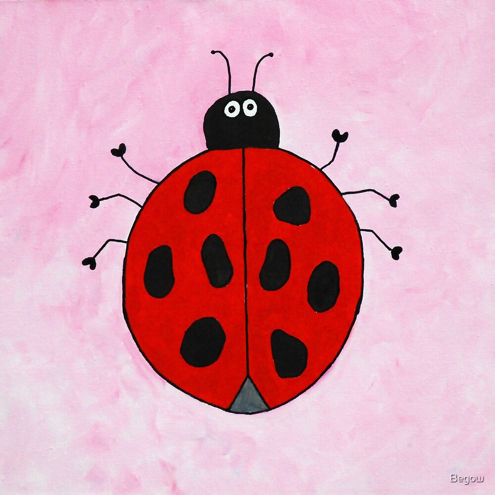Lovely Ladybug by Begow