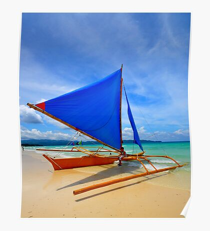 Colours of Boracay I Poster