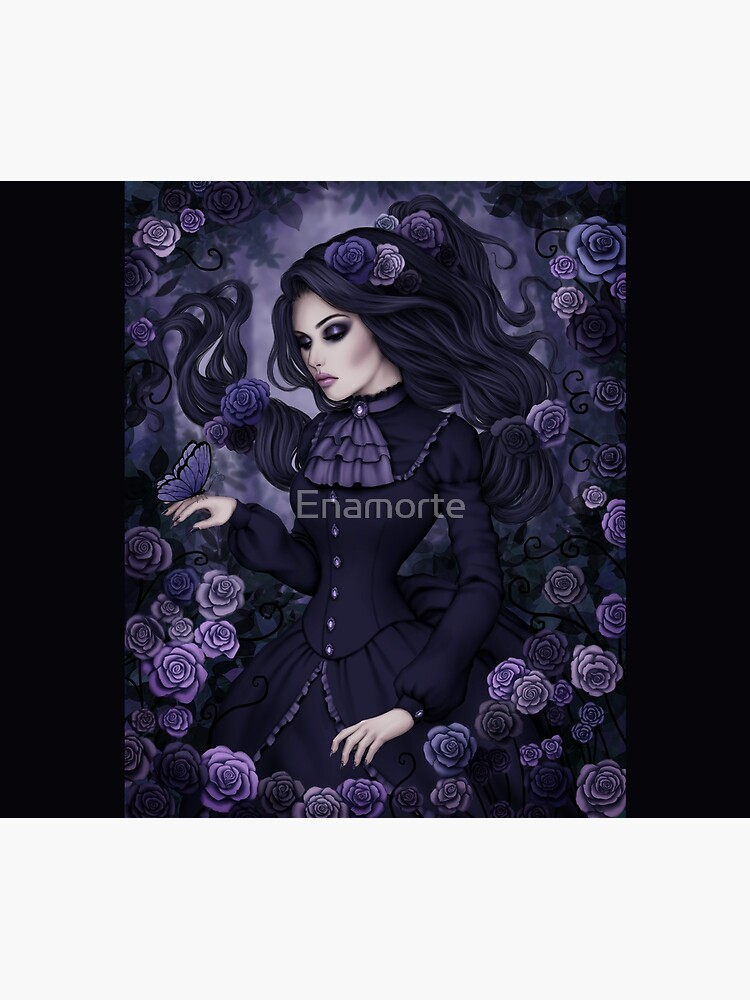 Shadowy Rose by Enamorte