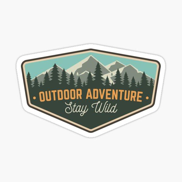 Outdoors Adventure Sticker
