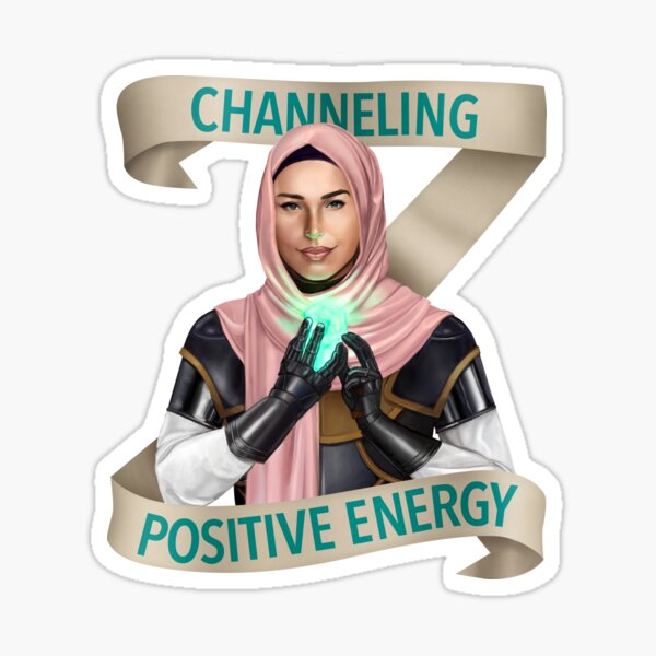 Cleric: Channeling Positive Energy Sticker