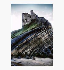 Ballybunion Castle Photographic Print