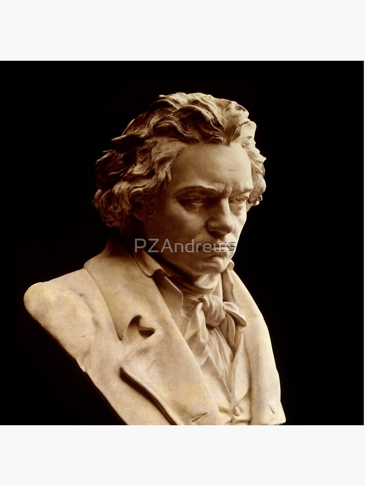 Beethoven bust statue by Hagen by PZAndrews
