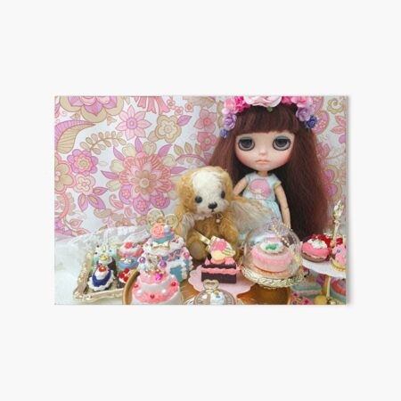 Belle and Puchi  Art Board Print