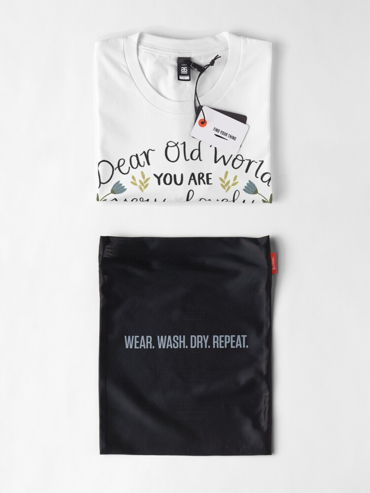 "Alternate view of Anne of Green Gables ""Dear Old World"" Quote Premium T-Shirt"
