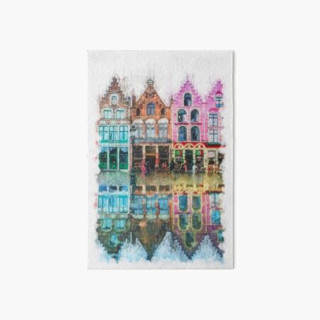 Bruges, Belgium Art Board Print