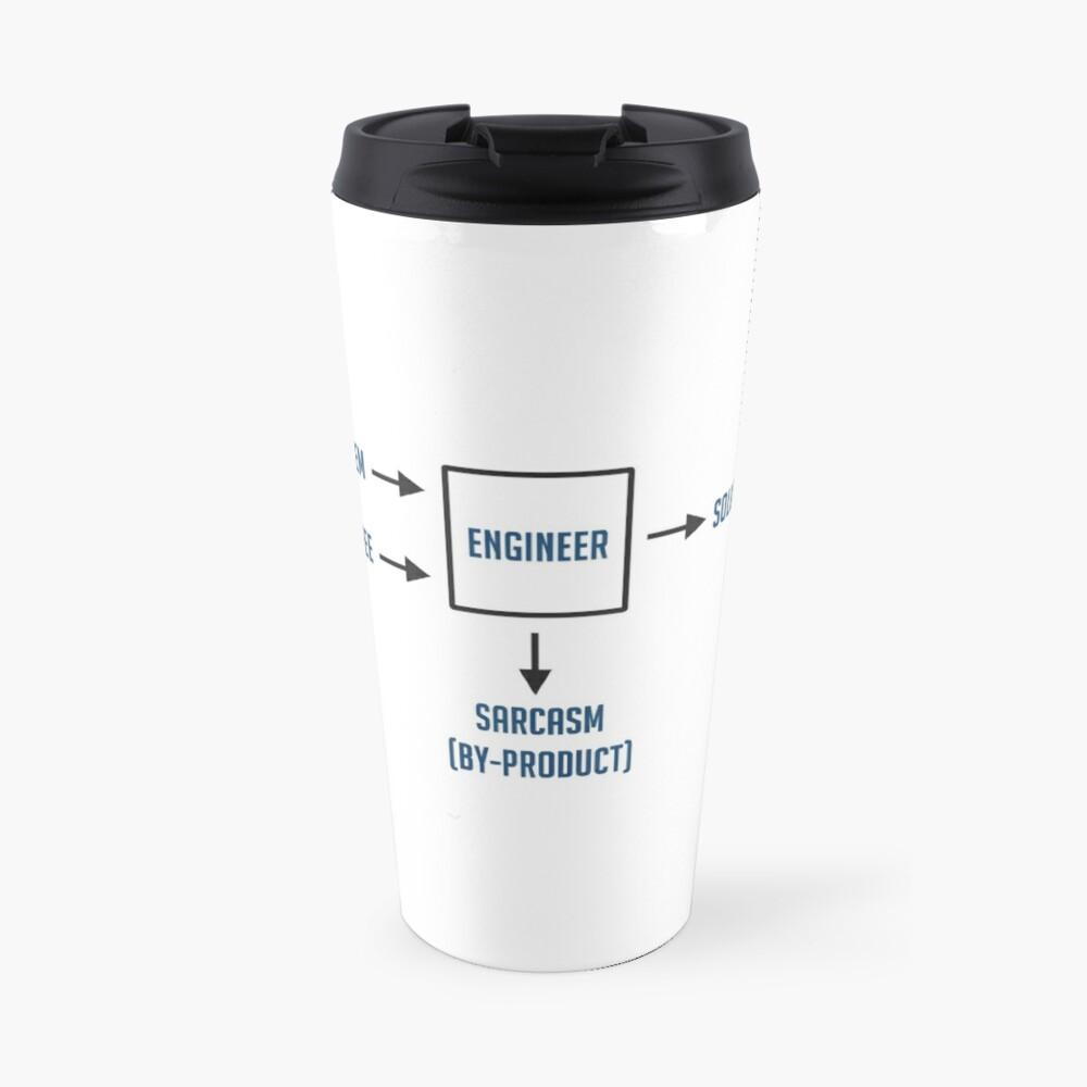 Engineering Sarcasm By-product Travel Mug