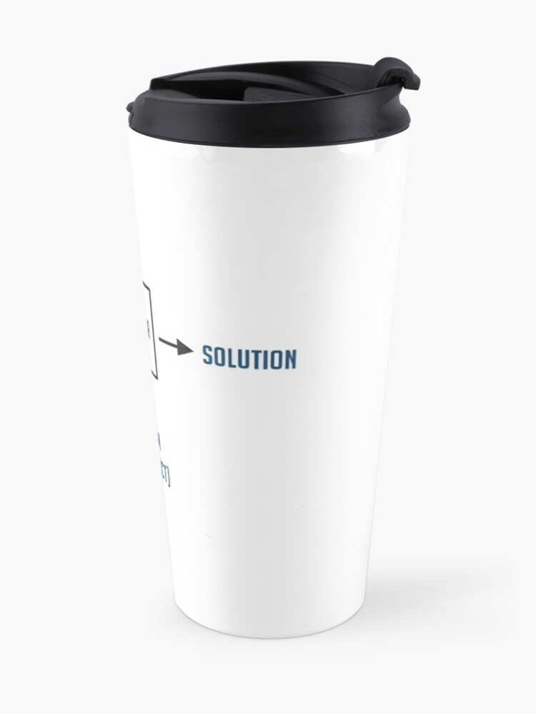 Alternate view of Engineering Sarcasm By-product Travel Mug
