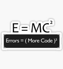 E=MC2 Sticker