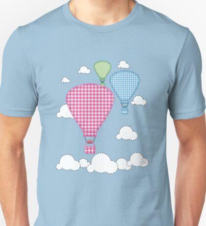 Plaid Hot Air Ballons T-Shirt