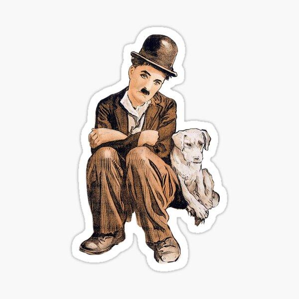 Charlie Chaplin Sticker