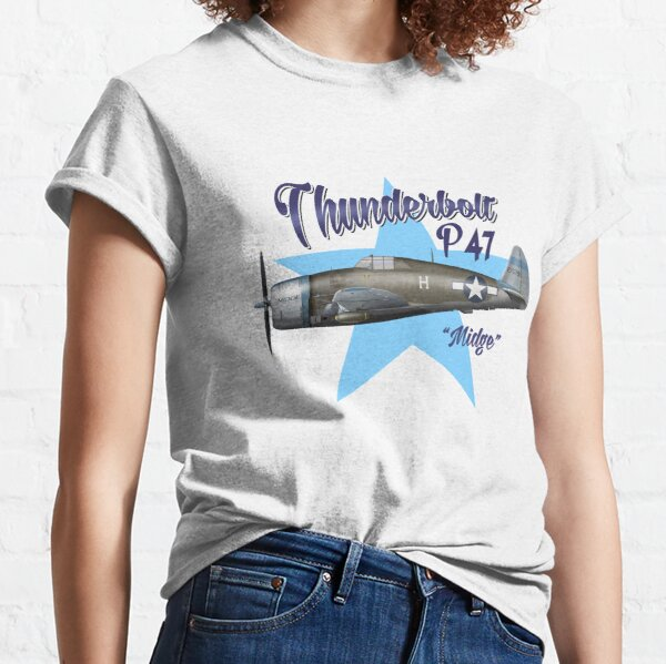 """P-47 """"Midge"""" Classic T-Shirt"""