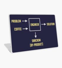 Engineering Sarcasm By-product Laptop Skin