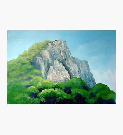 Castle on the hill top Photographic Print