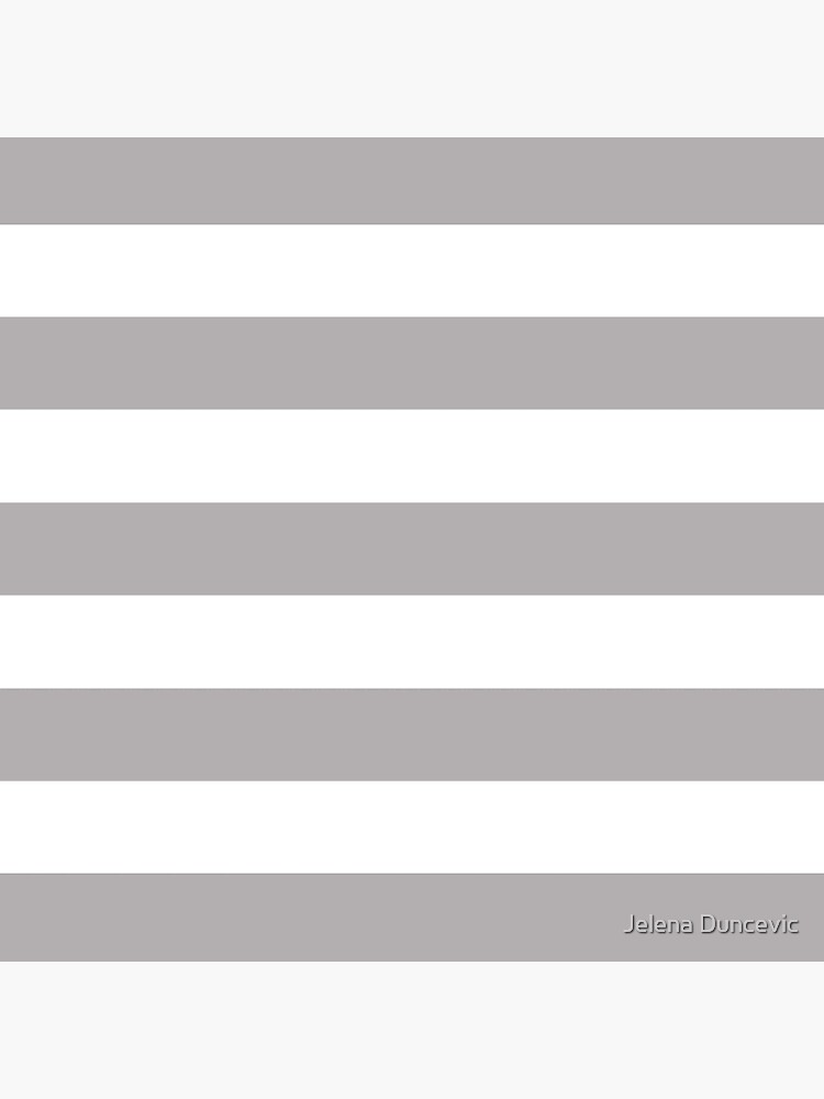 Stripes (Parallel Lines) - Gray White by sitnica