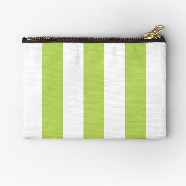 Personalizado Feliz día de Halloween Dulce Bolsas Bolsas de Fiesta A Rayas Verde Y Blanco