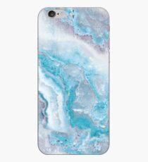 Luxus Meerjungfrau Blau Achat Marmor Geode Gem iPhone-Hülle & Cover