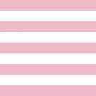 Stripes (Parallel Lines) - Pink White by sitnica