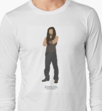 Stargate Atlantis - Minimalist Ronon Long Sleeve T-Shirt