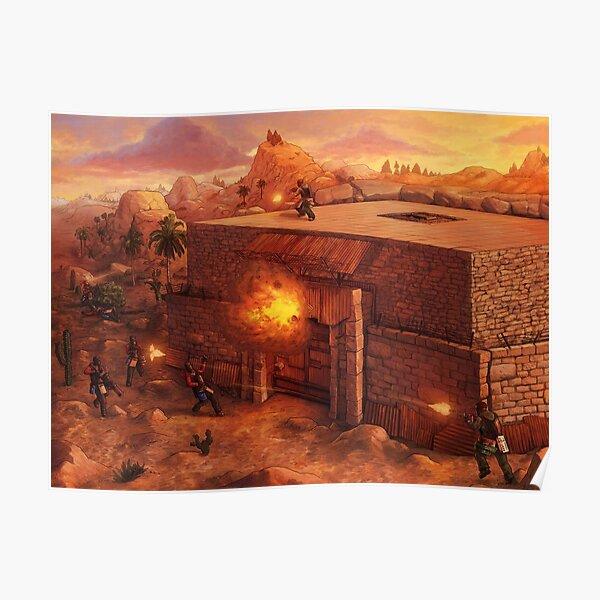 Rust raid Poster