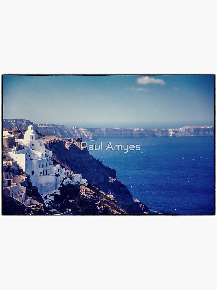 Santorini Caldera by AmyesPhotograph