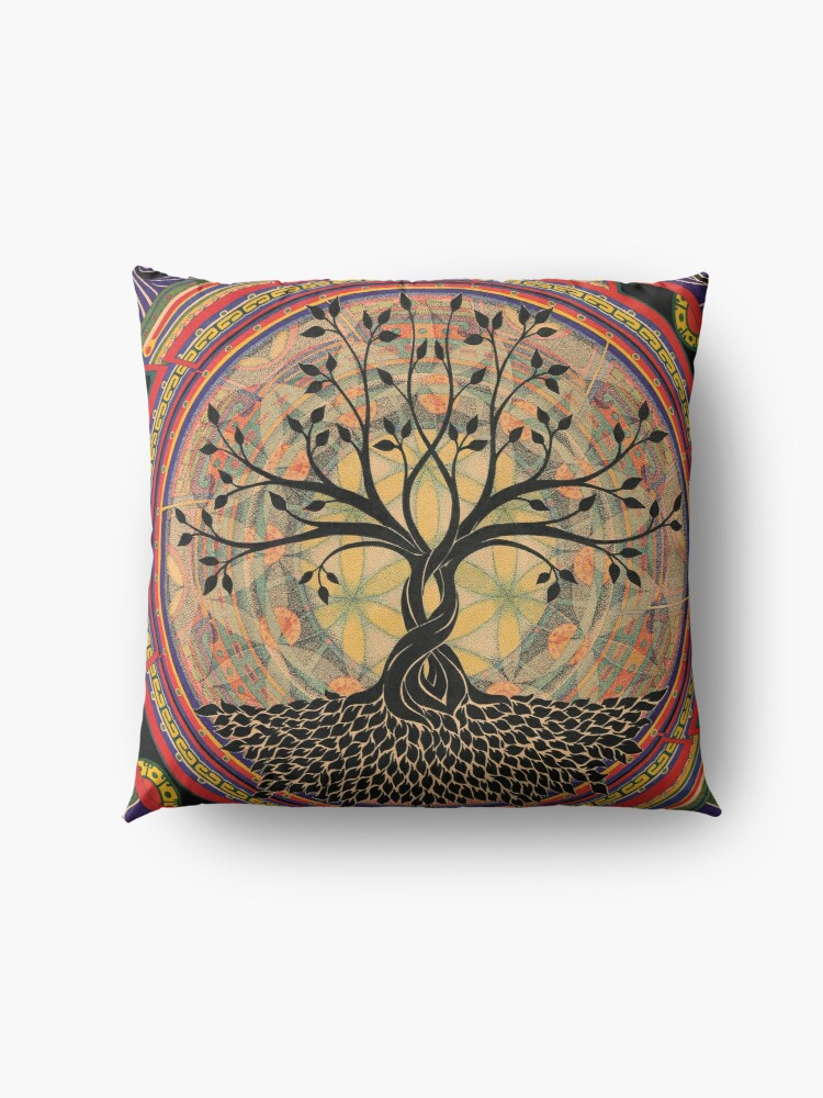 Alternate view of Life:Tree Floor Pillow
