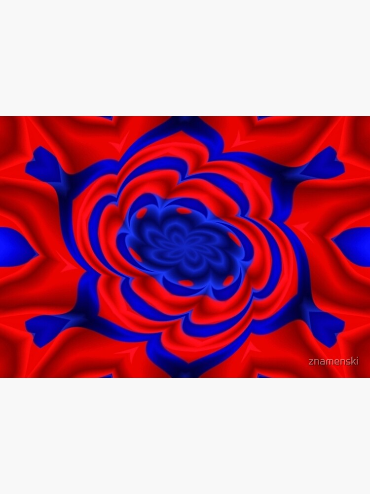 Rose, Plants, Graphic Design, kaleidoscope by znamenski