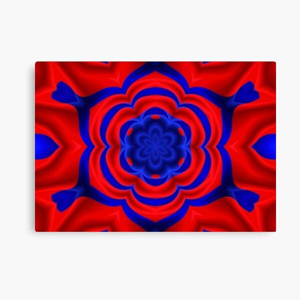 Graphic Design, kaleidoscope Canvas Print