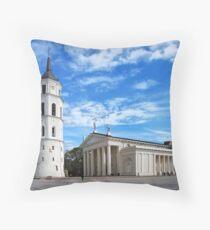 Vilnius Cathedral Throw Pillow