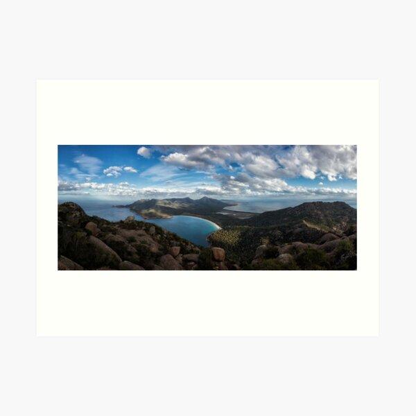 Freycinet As Far As The Eye Can See Art Print
