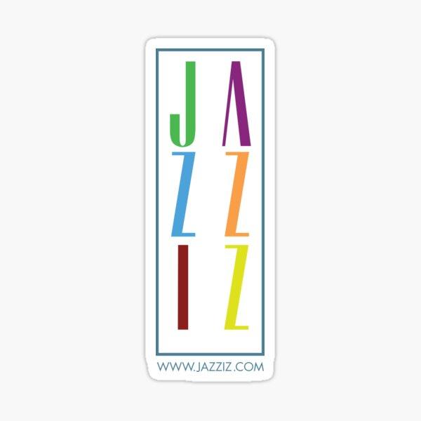 "JAZZIZ ""Stacked"" Sticker"