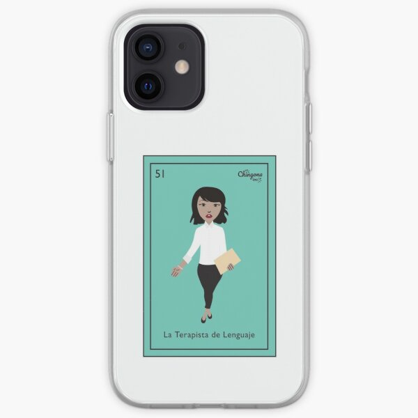 La Terapista de Lenguaje  iPhone Soft Case