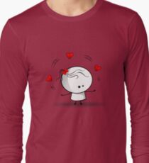 Playing with red hearts T-Shirt